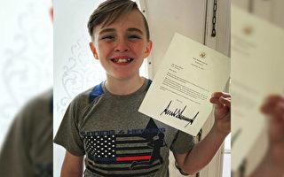 12岁男孩为殉职英雄跑步筹款 获总统自由勋章