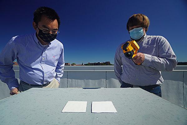 美科学家研发可降温的白漆 减少冷气使用
