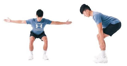 训练姿势的运动:平板姿。(日日幸福提供)