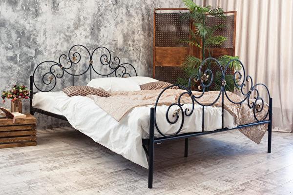 卧房, 卧室, 宽敞, 铁床