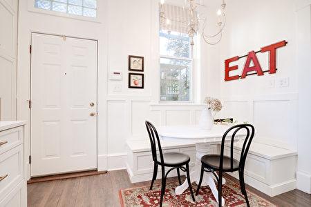 飯廳, 餐桌, 空間, 卡座, 板凳