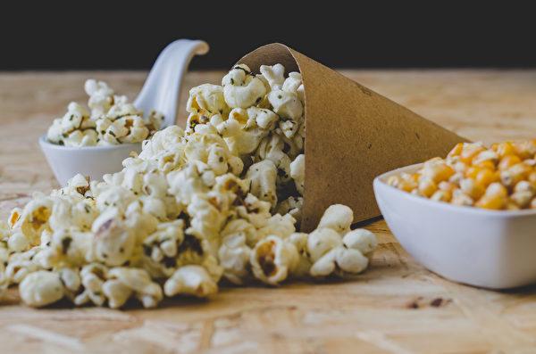shutterstock,popcorn,爆米花,点心