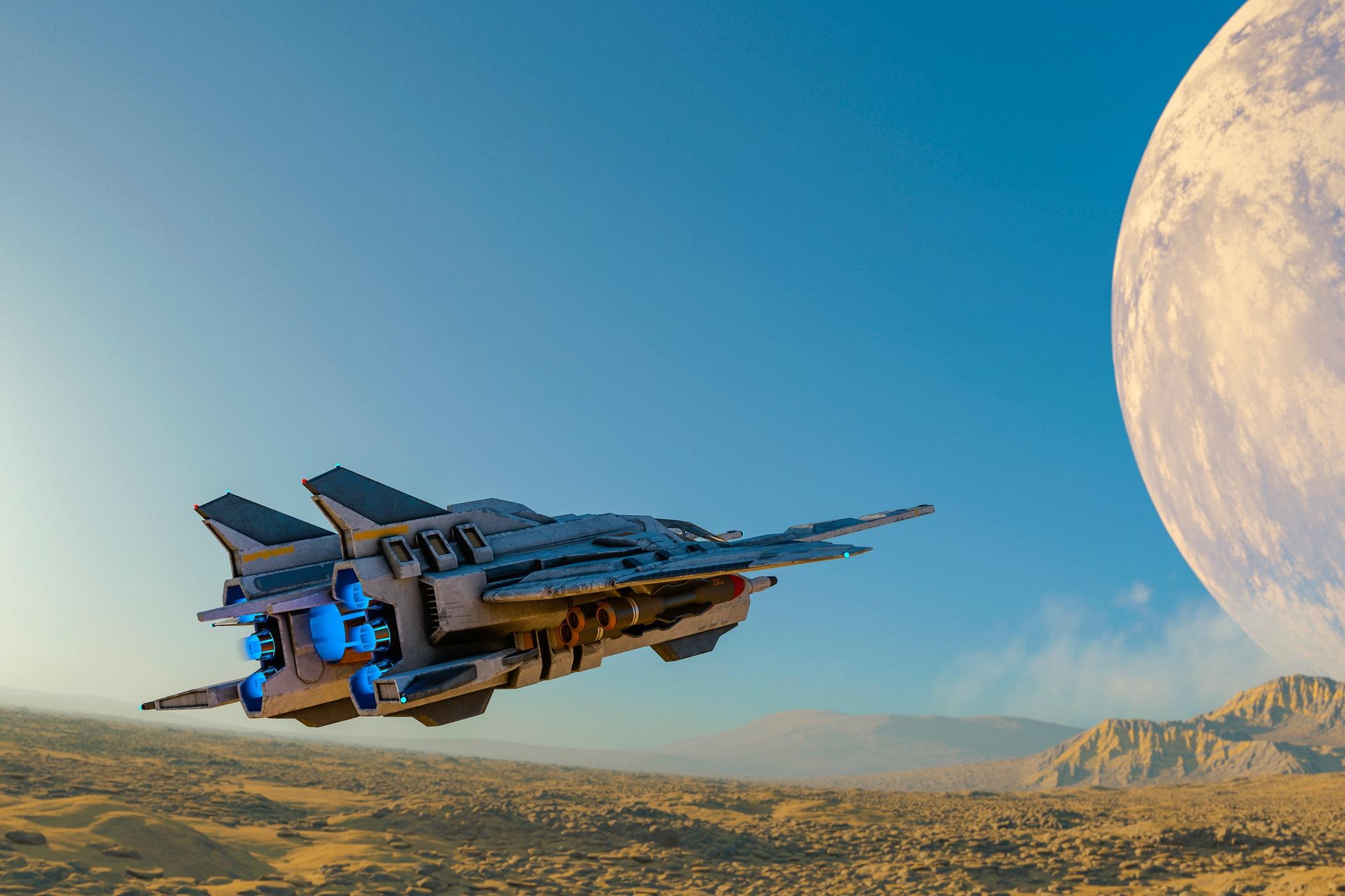 未來的太空戰爭將會怎樣打呢?