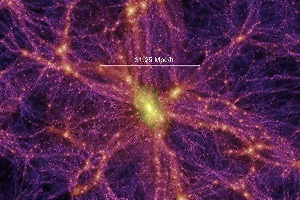 新研究找到消失在宇宙网中40%隐藏物质
