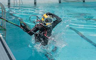 台湾水下大队中士溺水 转加护病房治疗