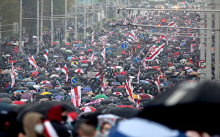 白俄罗斯选举违规且镇压抗议者 美扩大制裁