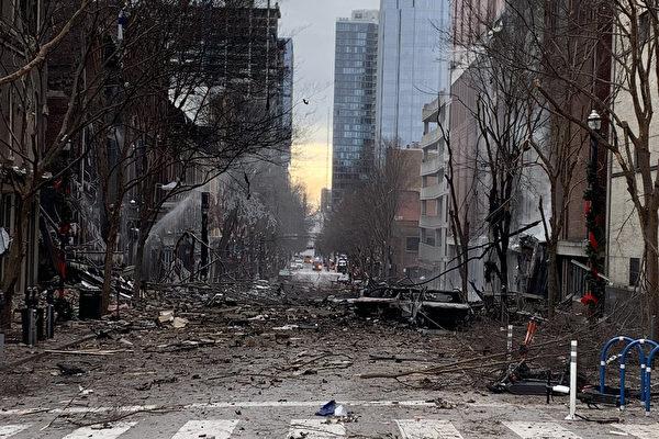 美纳什维尔爆炸前 离奇广播促民众撤离