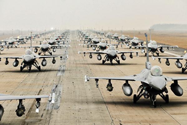美战机在北极展示军力 向中俄释何信号
