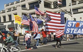 支持度与投票结果相悖 加州选民:川普不可能输