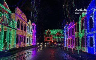 麻州Wilmington民宅聖誕燈飾獲全美首獎