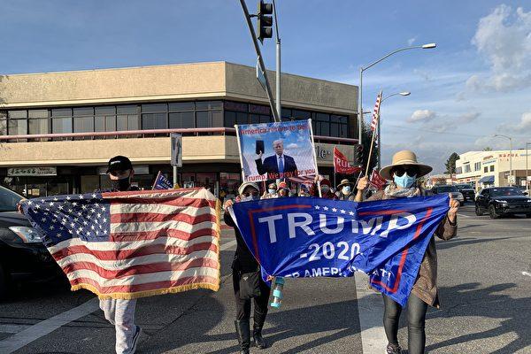 加州华人力挺川普:守护美国的最后机会