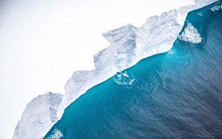 英军飞机拍到世界最大冰山 向南大西洋漂移