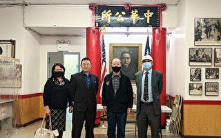 熊焱拜訪紐約華人社區  退伍後將加入華裔退伍軍人會
