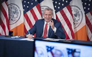 纽约市长:疫苗下周抵达纽约市
