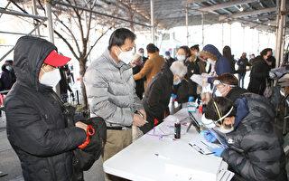 市医管局华埠办新冠检测外展活动