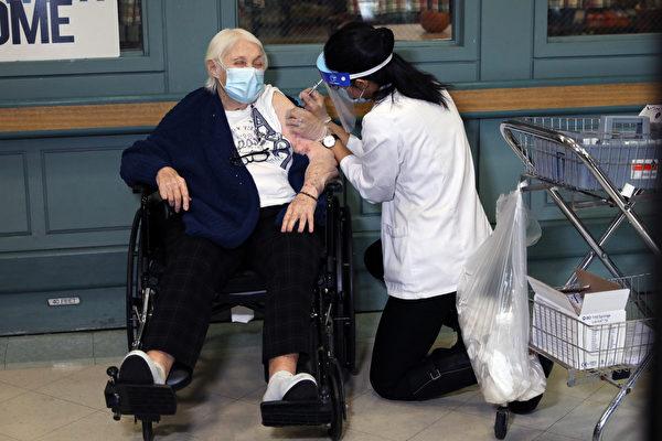 纽约市一医护接种疫苗后严重过敏 卫生局发声明