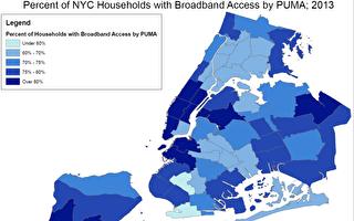 纽约拟增许可证 压低宽带价格