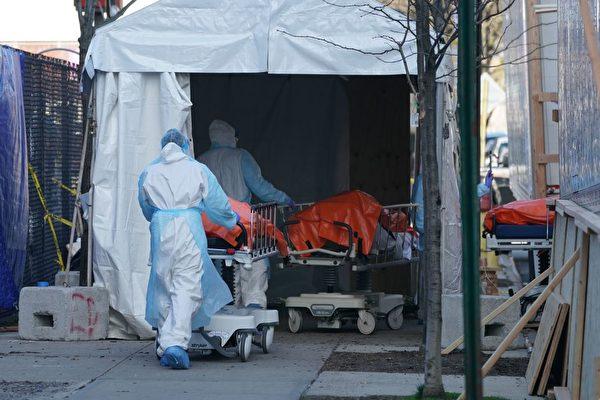 纽约疫情初期 华裔染疫病人住院死亡率最高
