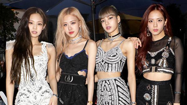 Jennie Kim, Rosé, Lisa and Jisoo of \'BLACKPINK\'
