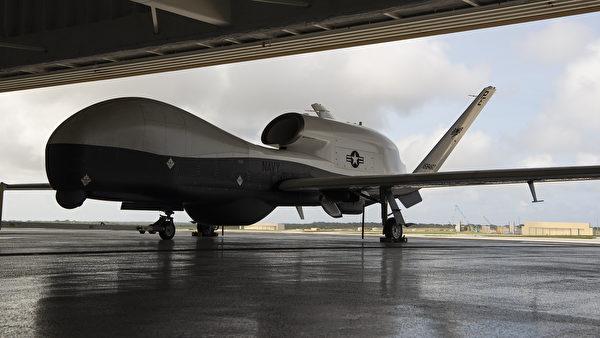 2020年1月27日,美国印太司令部公布,MQ-4C无人机系统部署到关岛的达安德森空军基地。(美国空军)