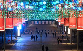 組圖:疫情難阻歐洲人迎接聖誕和新年