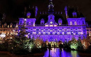 組圖:疫情下巴黎城聖誕燈飾添節慶氛圍