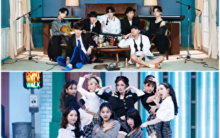 BTS、TWICE、NiziU獲日唱片協會串流媒體認證