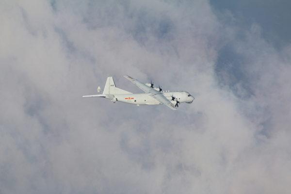 中共军机今年380余架次扰台 威胁台海局势