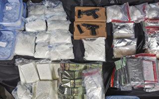 多倫多警方繳獲价值1700万毒品