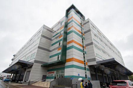 杏一大健康智能化物流中心新倉儲地上4層、總樓地板面積達2.7萬平方公尺。