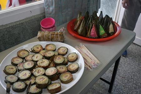 採用雲林在地食材,不甜不膩的越南美食~長粽及三角粿。吃了會想再吃!