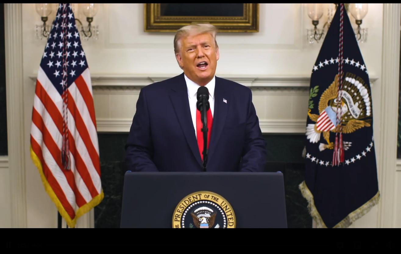特朗普在白宮發表最重要演講全文翻譯