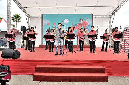 林口农会家政班演出-古典风华-二胡演奏。