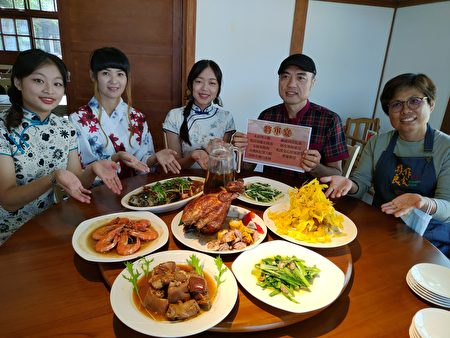"""""""将军宴""""源自于胜利星村将军庆贺重要胜仗或升迁,阿汉私厨透过结合屏东在地食材,搭配眷村料理秘技,获得饕客青睐。"""