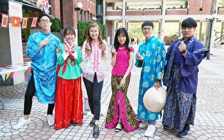 玩轉世界嘉年華 大葉大學境外生展示八國文化