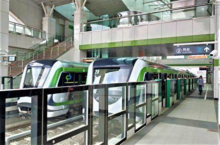 台中捷運綠線列車連結器軸心連續斷裂故障,試營運6天喊卡。