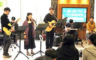 耶誕音樂會揭幕  長庚大學化材系師生演唱民歌