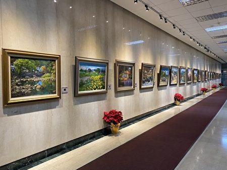 """""""心怀乡土文化 纪录台湾历史-曾盛俊油画展"""",展期至2021年1月6日中午12时,于馆前艺文走廊(台北市馆前路46号)展出。"""