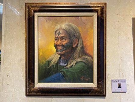 曾胜俊老师的画作《长者》。