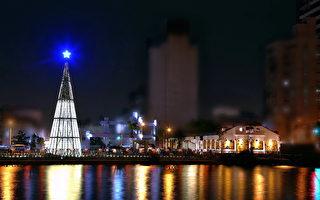 台版「巴黎塞納河」絕美浪漫 純白耶誕樹打卡夯