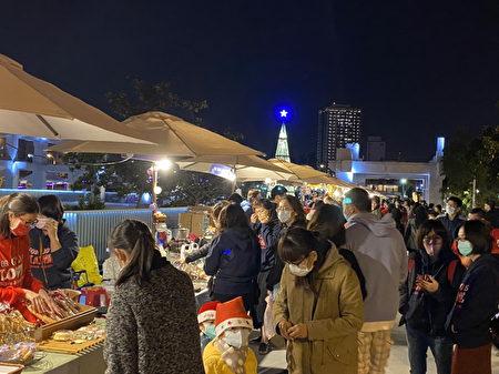 和樂耶誕市集一景。