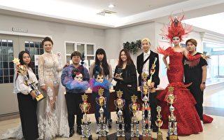 建國科大美容系榮獲世界模特兒選拔組前四名