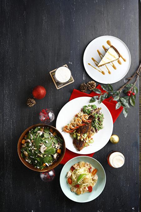 限定派對套餐由無國界手工佳餚組成。
