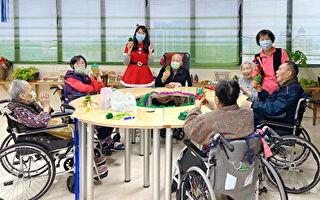 DIY「聖誕樹」 桃園醫院附設護理之家心暖暖的