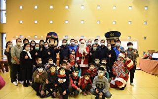 副縣長化身聖誕老人與竹縣員警幫孩童圓夢