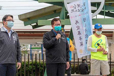 桃園市長鄭文燦祝福年菜募集的夢想順利完成。