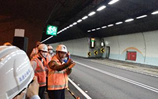 雪隧公告慢速車號 示警系統今起試辦