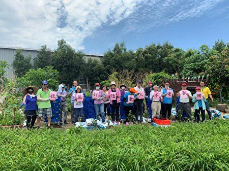 """新国社区发展协会为食物森林取一个可爱的名称叫""""不老菜圃""""。"""