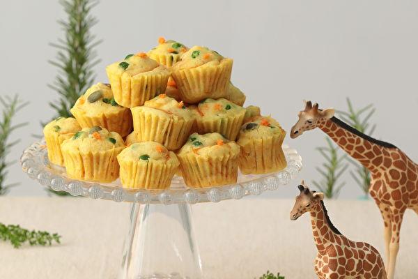 亲子DIY 全植物低过敏甜点:奶香松饼