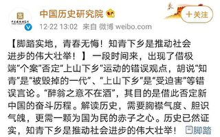 """袁斌:官媒为""""上山下乡""""翻案遭网友痛斥"""